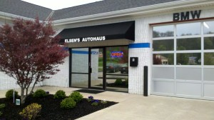 Front Door of Elsen's Autohaus BMW Service